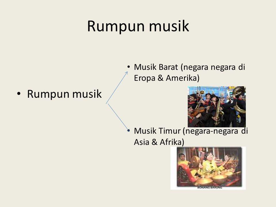 Rumpun musik Rumpun musik