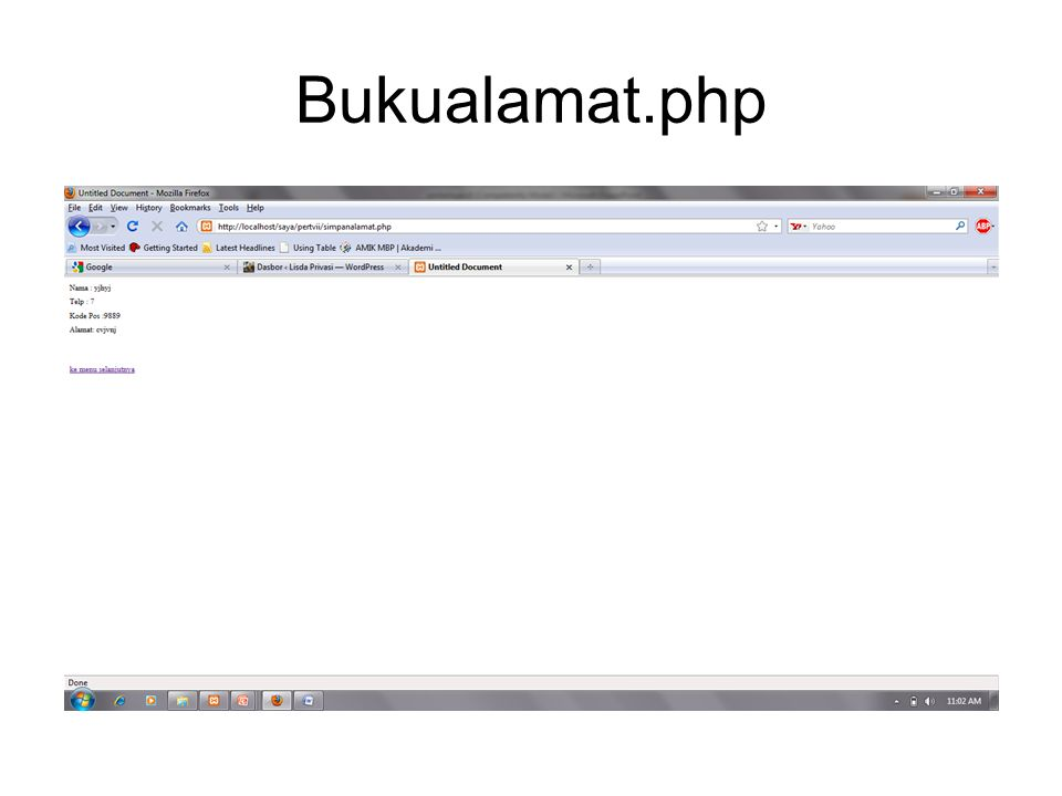Bukualamat.php