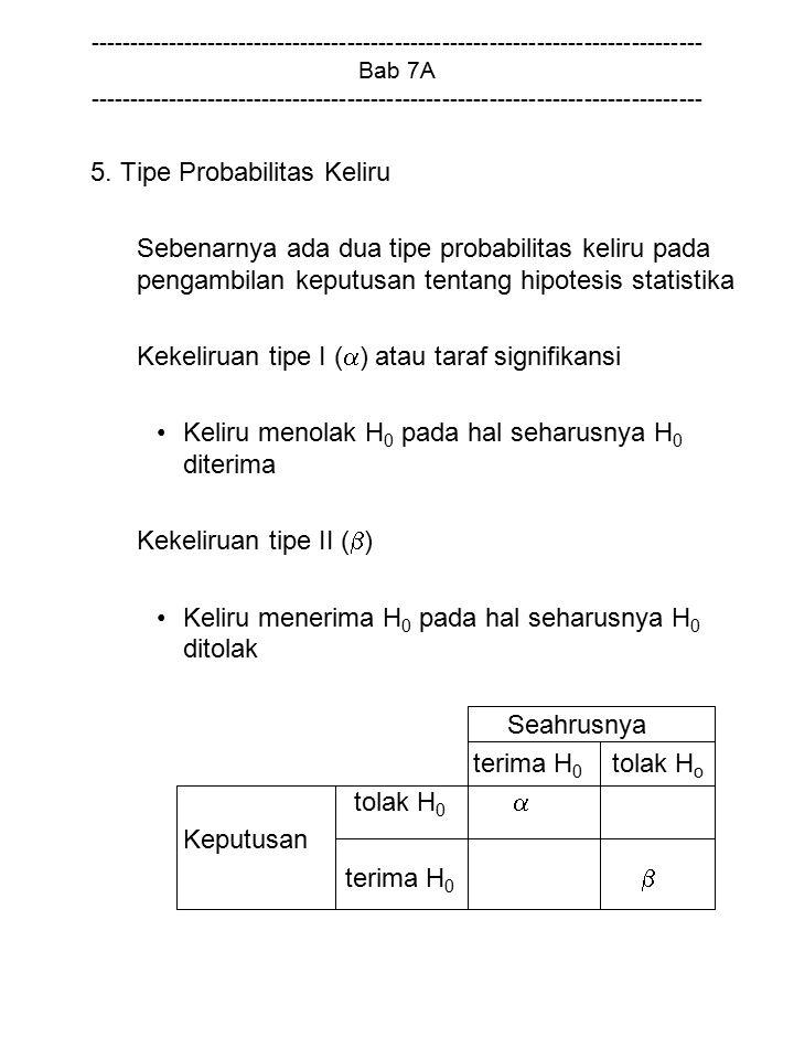 5. Tipe Probabilitas Keliru