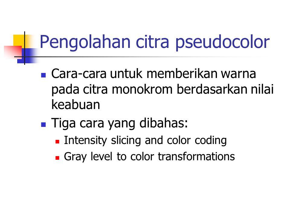 Pengolahan citra pseudocolor