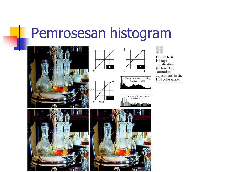 Pemrosesan histogram
