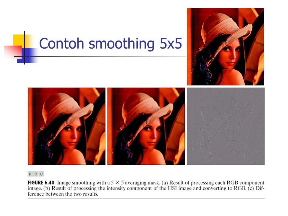 Contoh smoothing 5x5