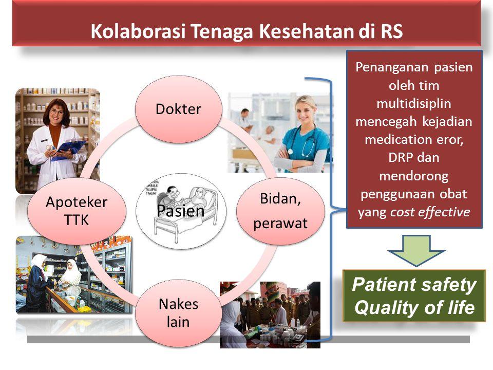Kolaborasi Tenaga Kesehatan di RS