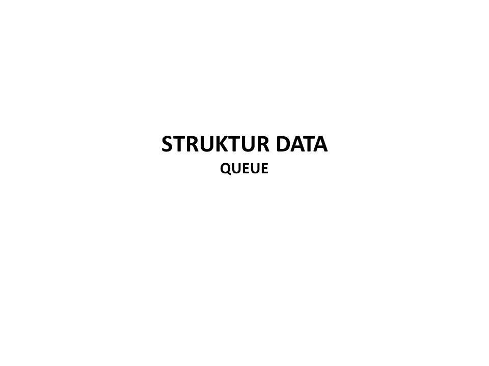 STRUKTUR DATA QUEUE