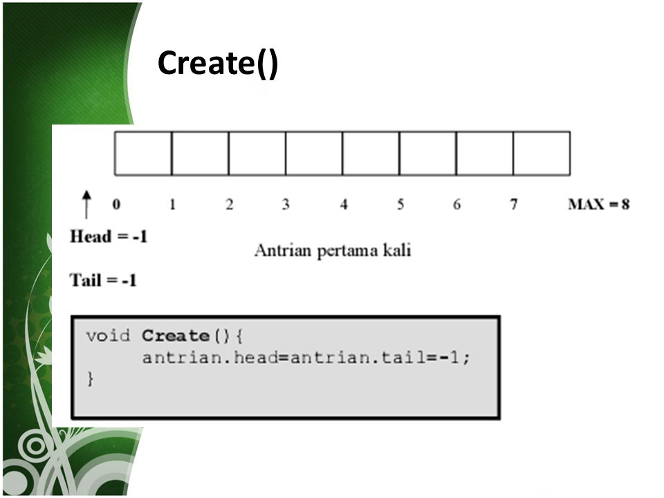 Create()