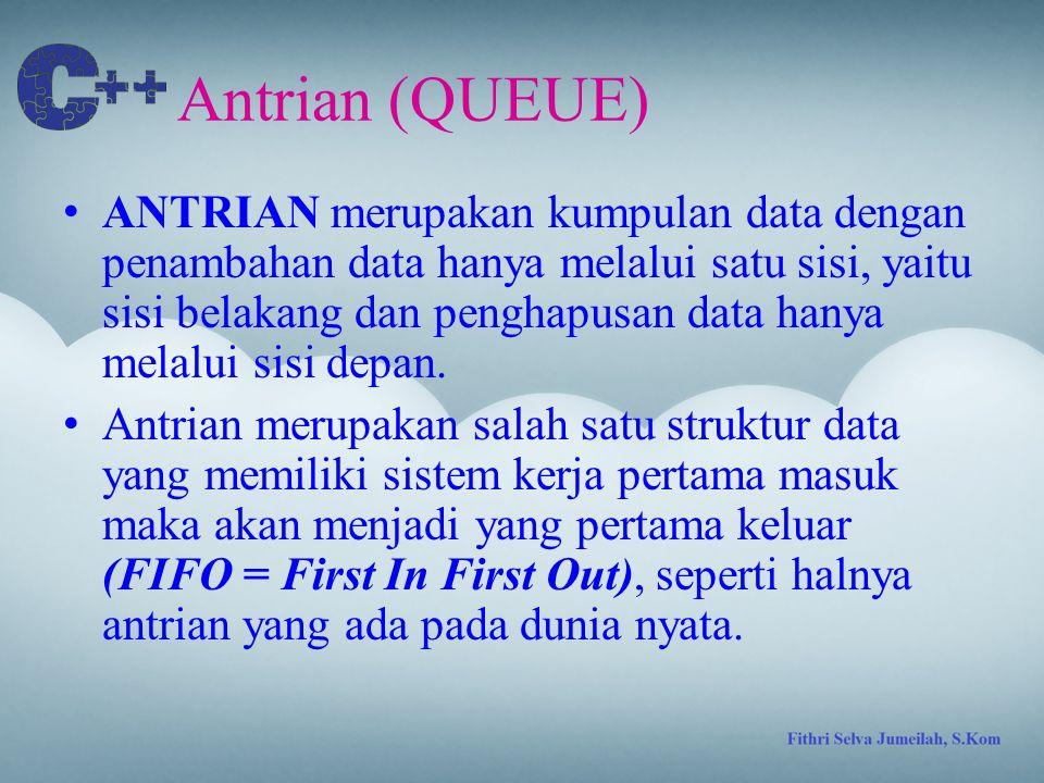 Antrian (QUEUE)