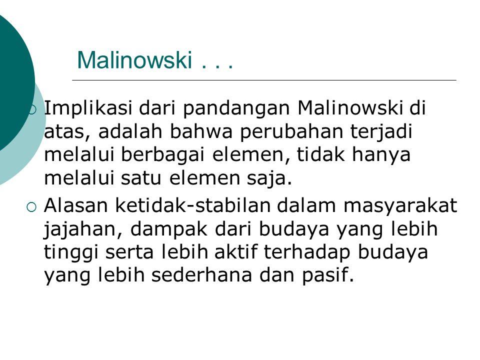 Malinowski . . .