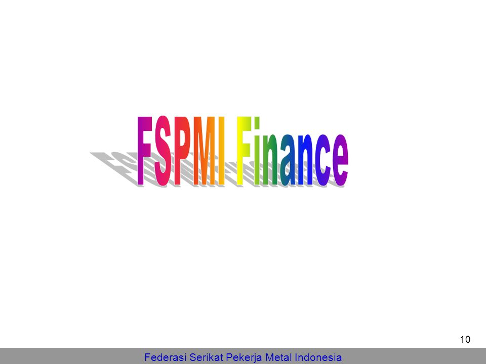 FSPMI Finance