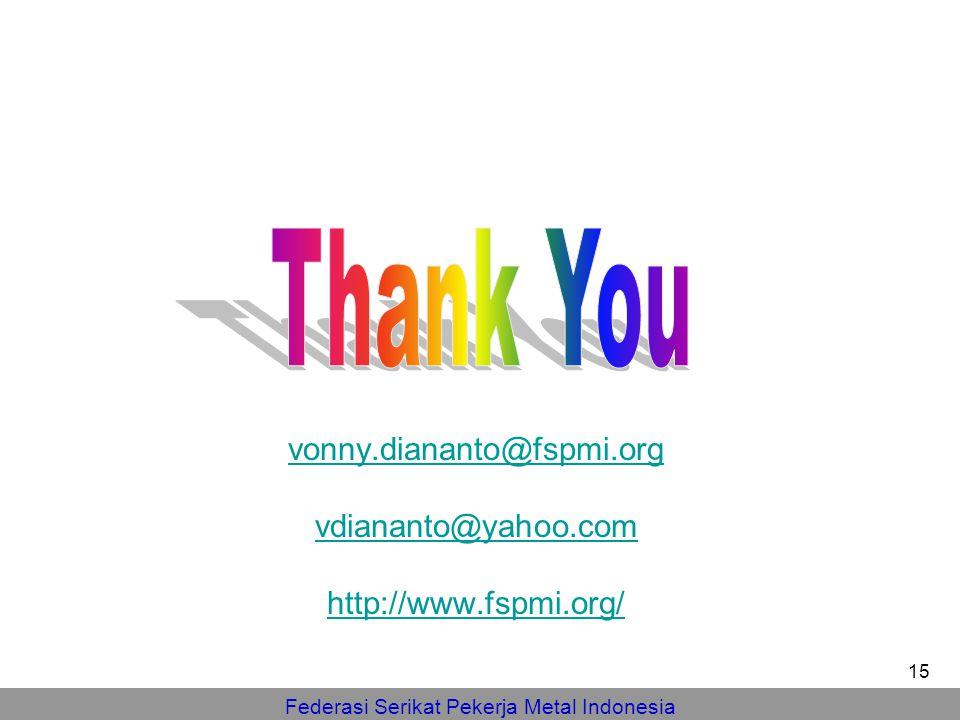 vonny.diananto@fspmi.org vdiananto@yahoo.com http://www.fspmi.org/