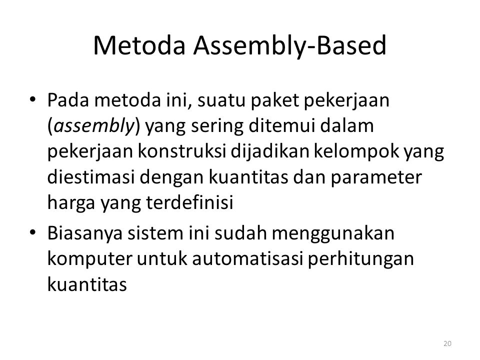 Metoda Assembly-Based