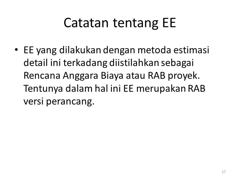 Catatan tentang EE