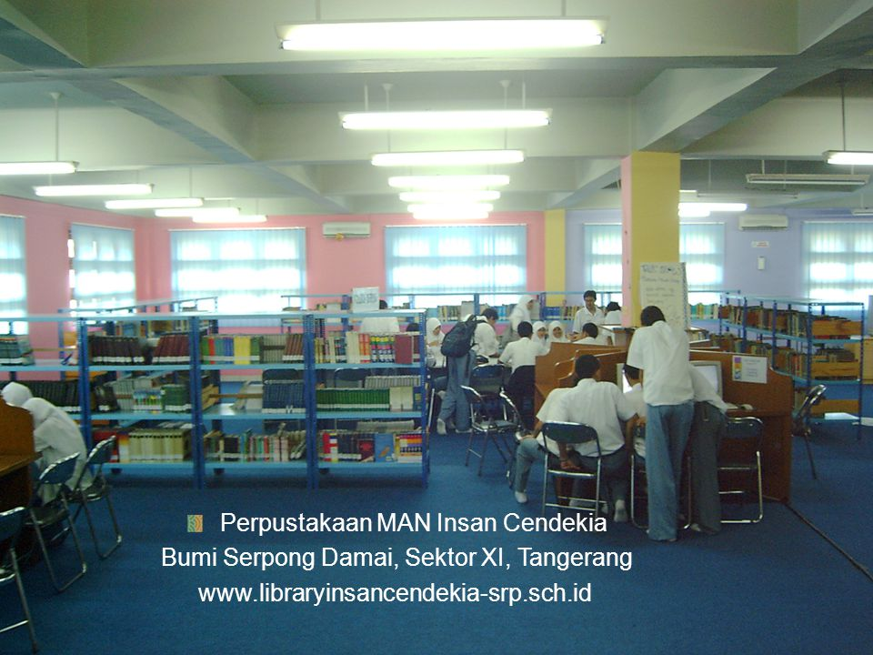 Perpustakaan MAN Insan Cendekia
