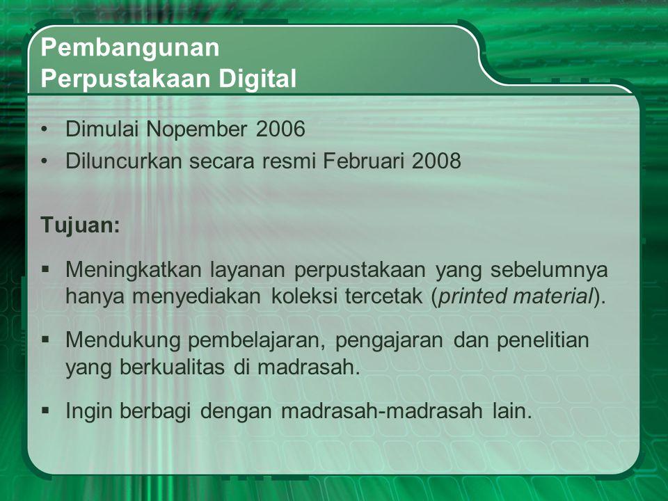 Pembangunan Perpustakaan Digital
