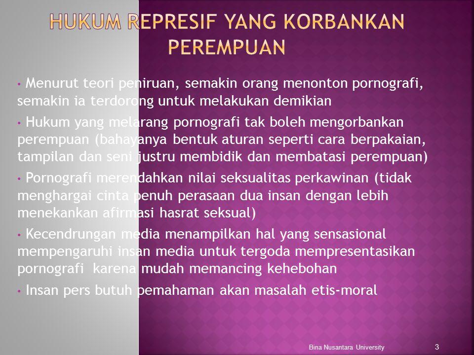 Hukum represif yang Korbankan Perempuan