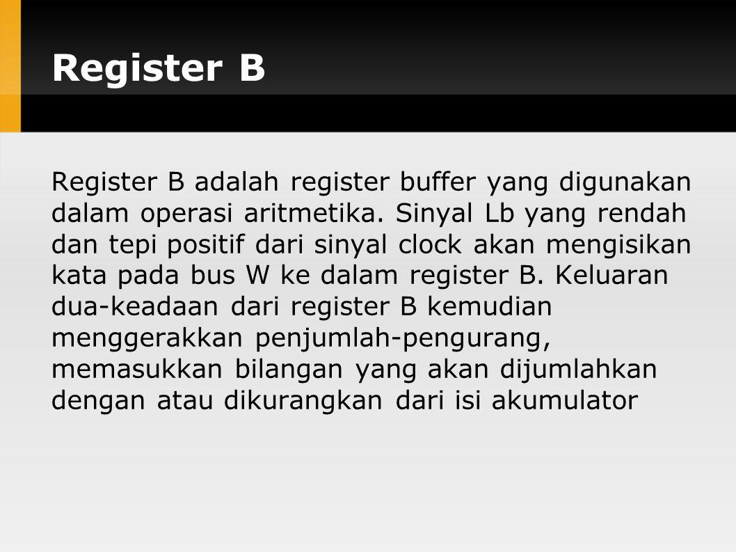 Register B