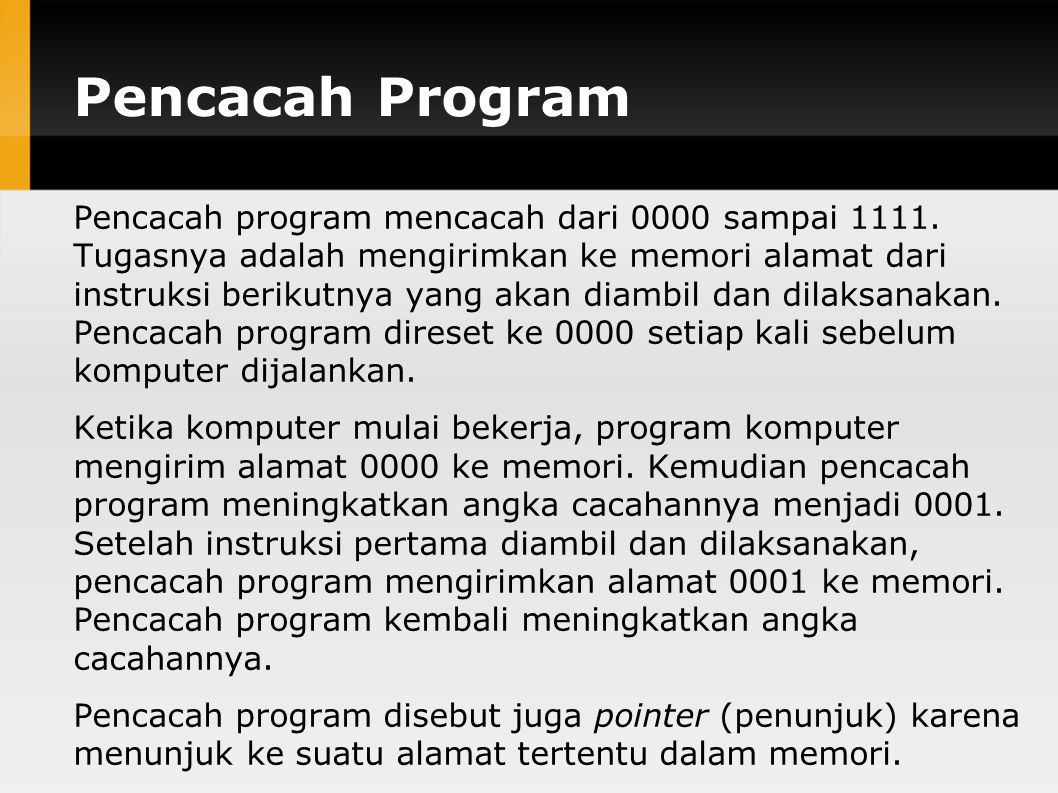 Pencacah Program