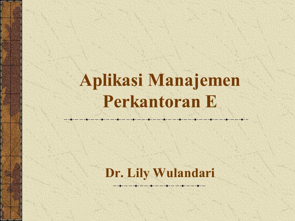 Aplikasi Manajemen Perkantoran E