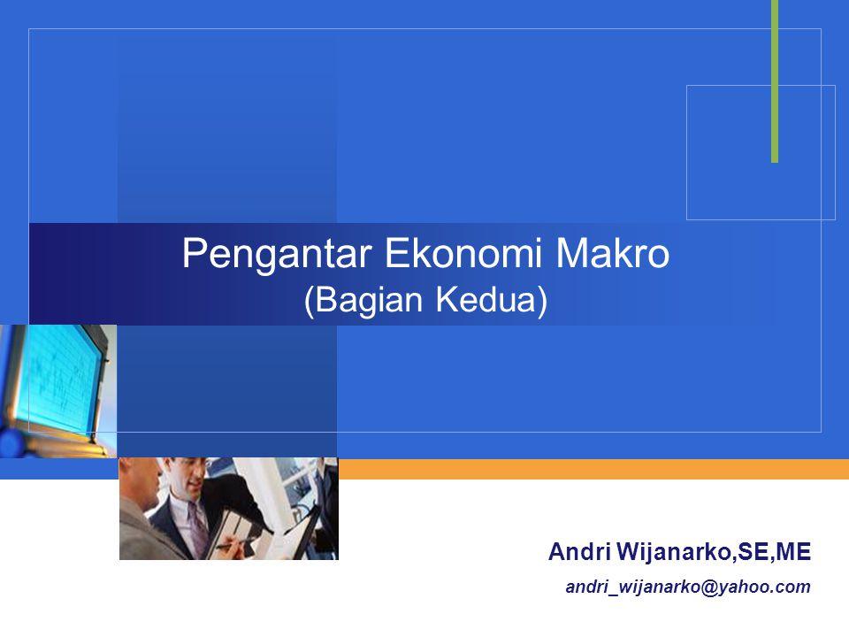 Pengantar Ekonomi Makro (Bagian Kedua)