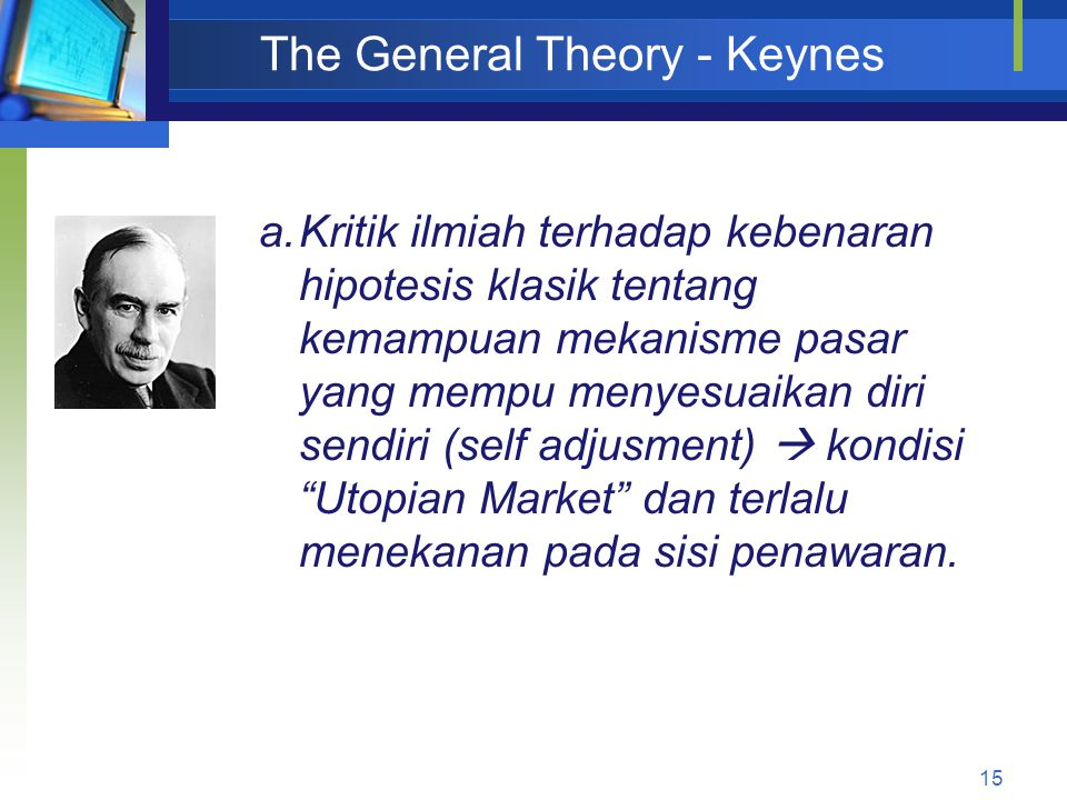 The General Theory - Keynes