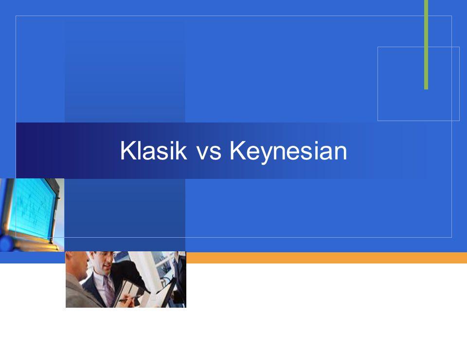 Klasik vs Keynesian