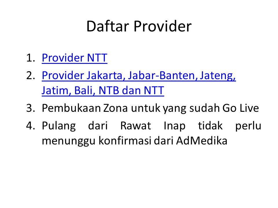 Daftar Provider Provider NTT