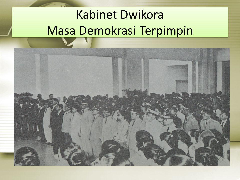 Kabinet Dwikora Masa Demokrasi Terpimpin