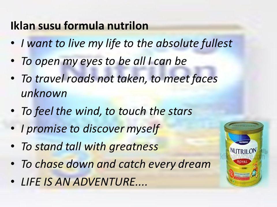 Iklan susu formula nutrilon