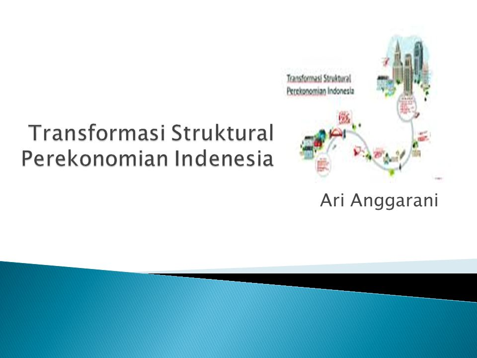 Transformasi Struktural Perekonomian Indenesia