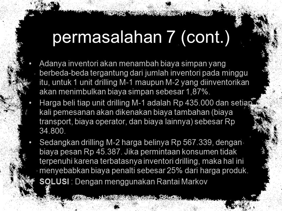 permasalahan 7 (cont.)
