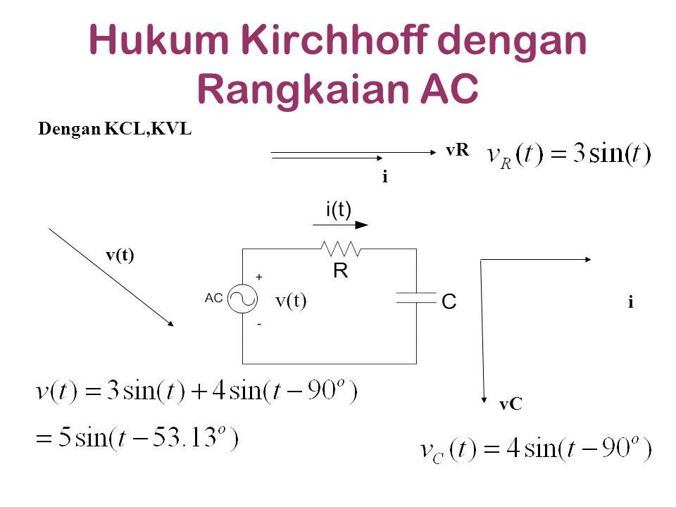 Hukum Kirchhoff dengan Rangkaian AC