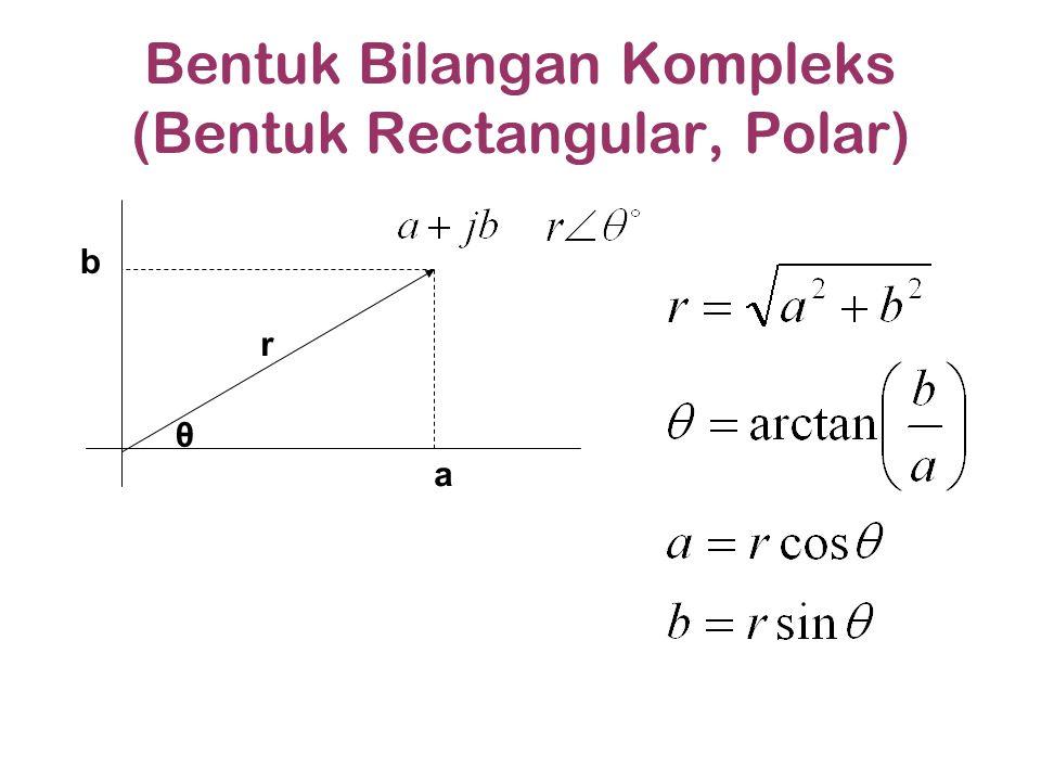 Bentuk Bilangan Kompleks (Bentuk Rectangular, Polar)