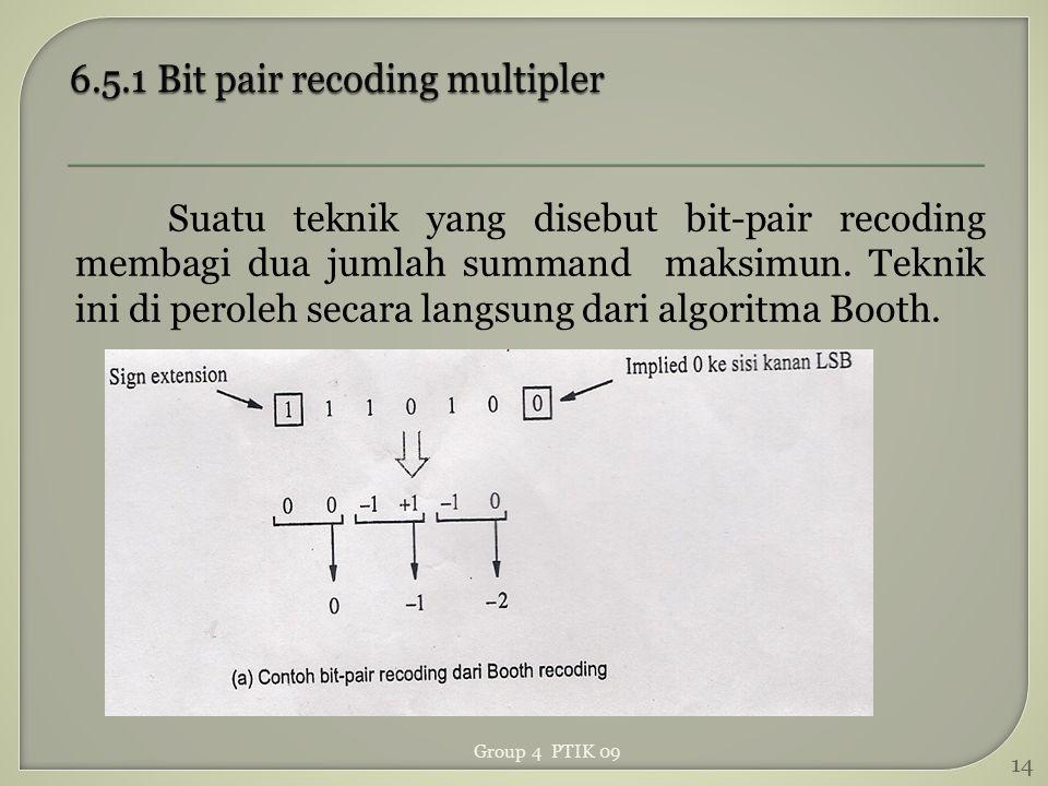6.5.1 Bit pair recoding multipler
