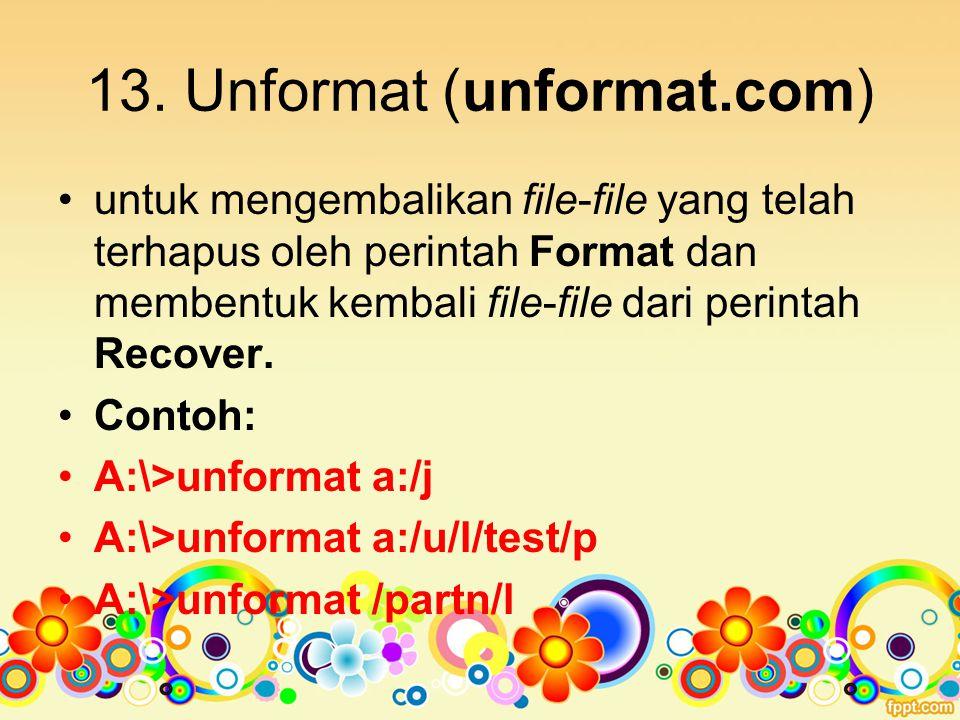 13. Unformat (unformat.com)