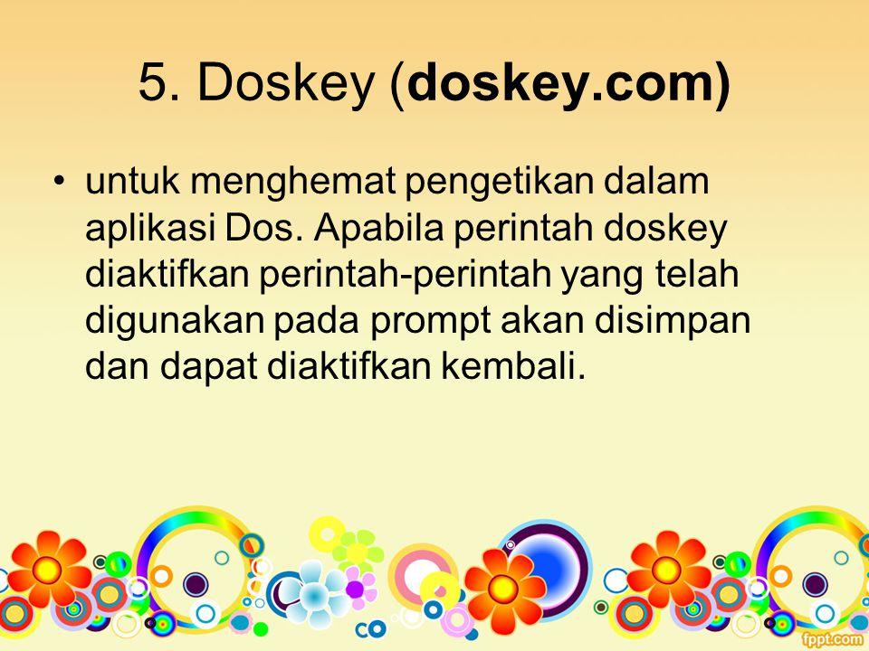 5. Doskey (doskey.com)