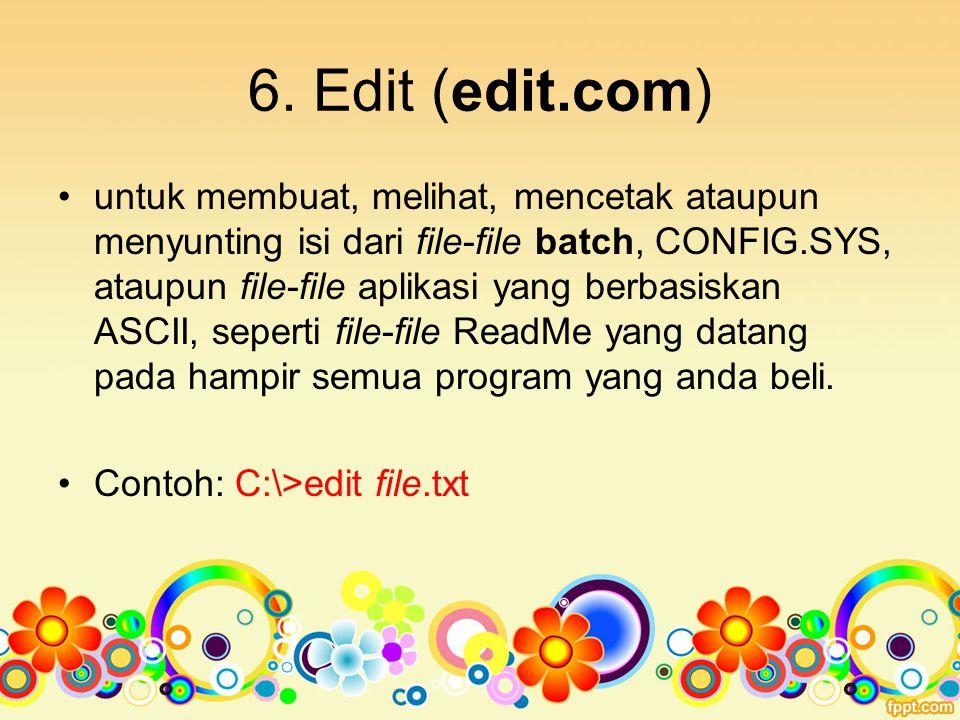 6. Edit (edit.com)