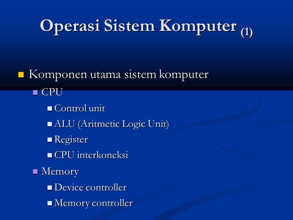 Operasi Sistem Komputer (1)