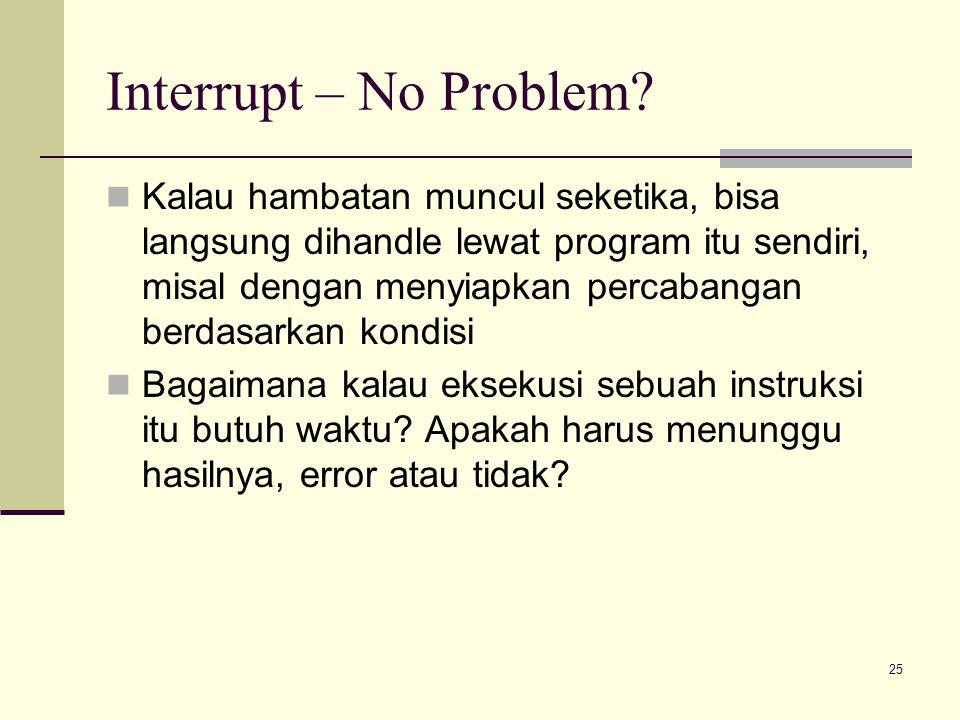 Interrupt – No Problem