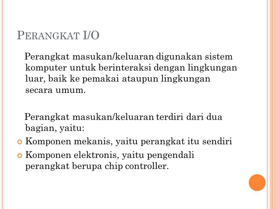 Perangkat I/O