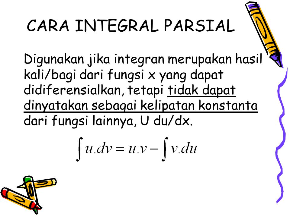 CARA INTEGRAL PARSIAL