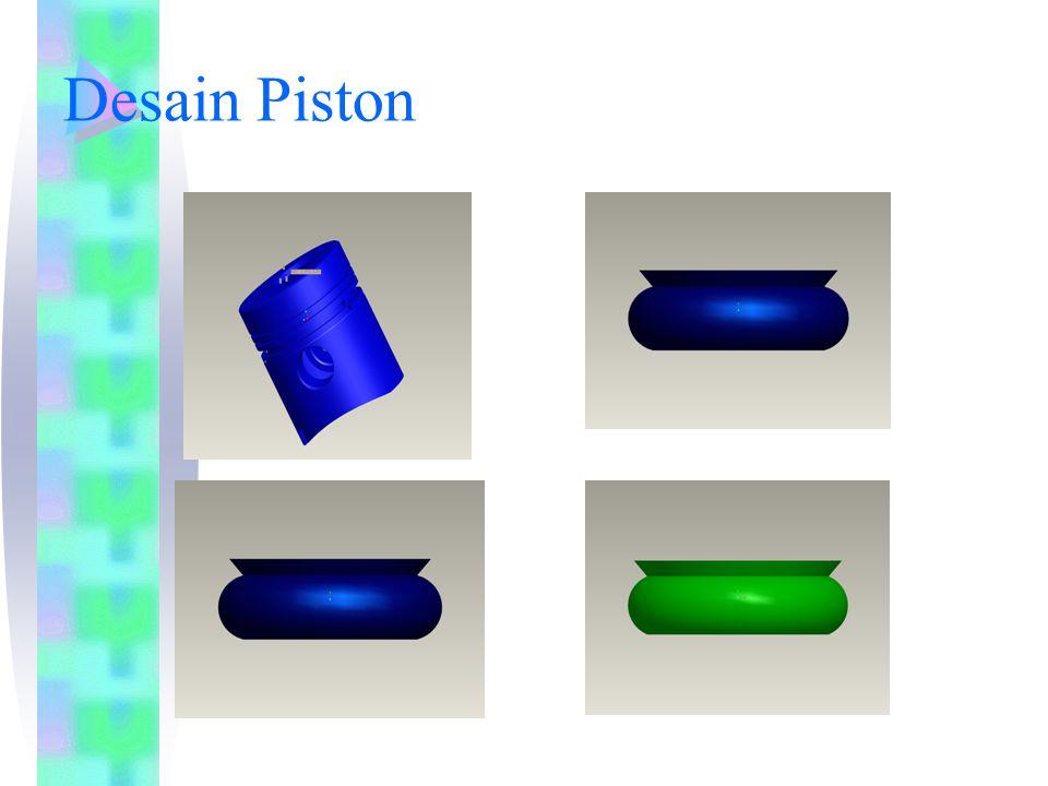 Desain Piston