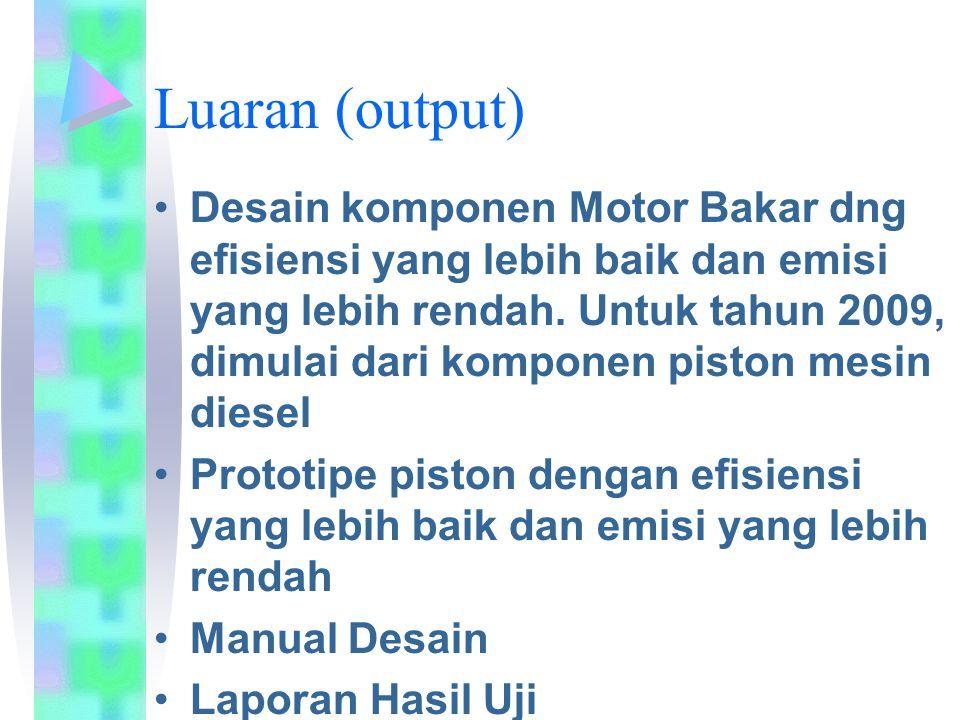 Luaran (output)