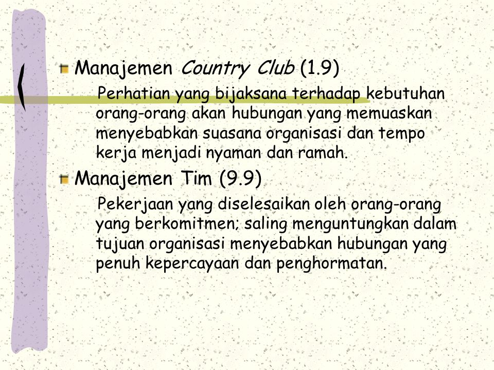 Manajemen Country Club (1.9)