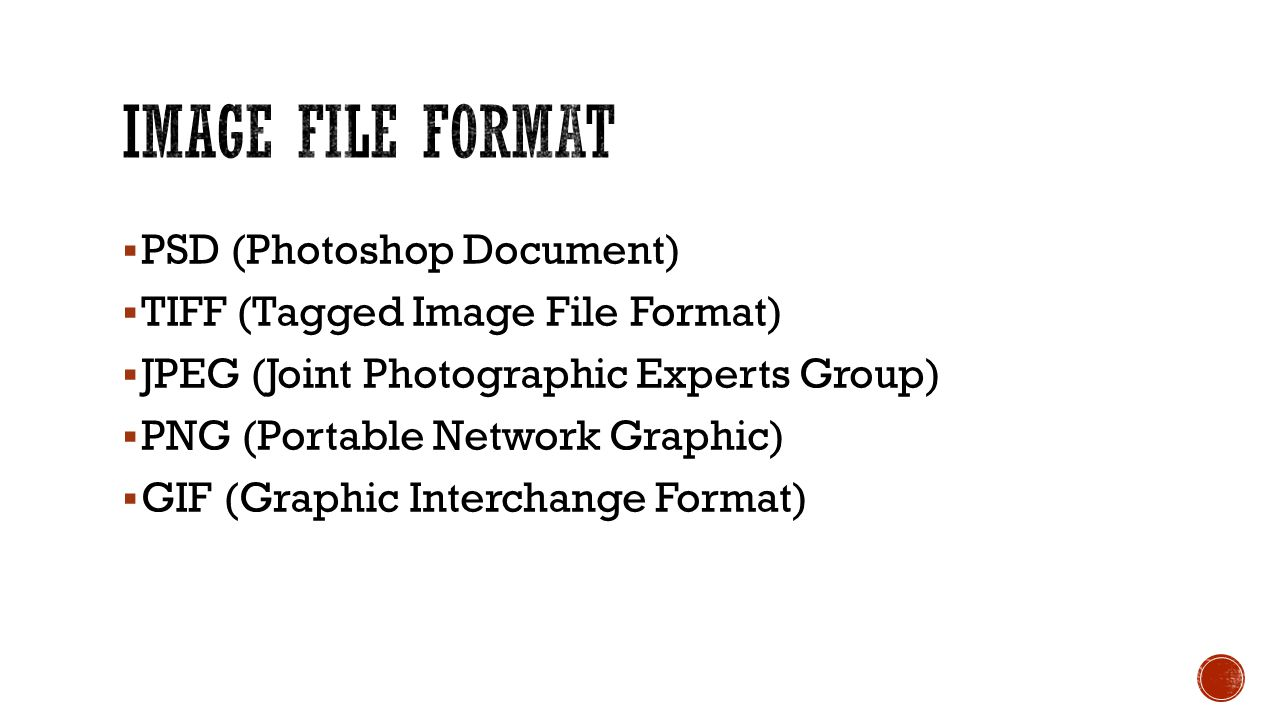 Image File Format PSD (Photoshop Document)
