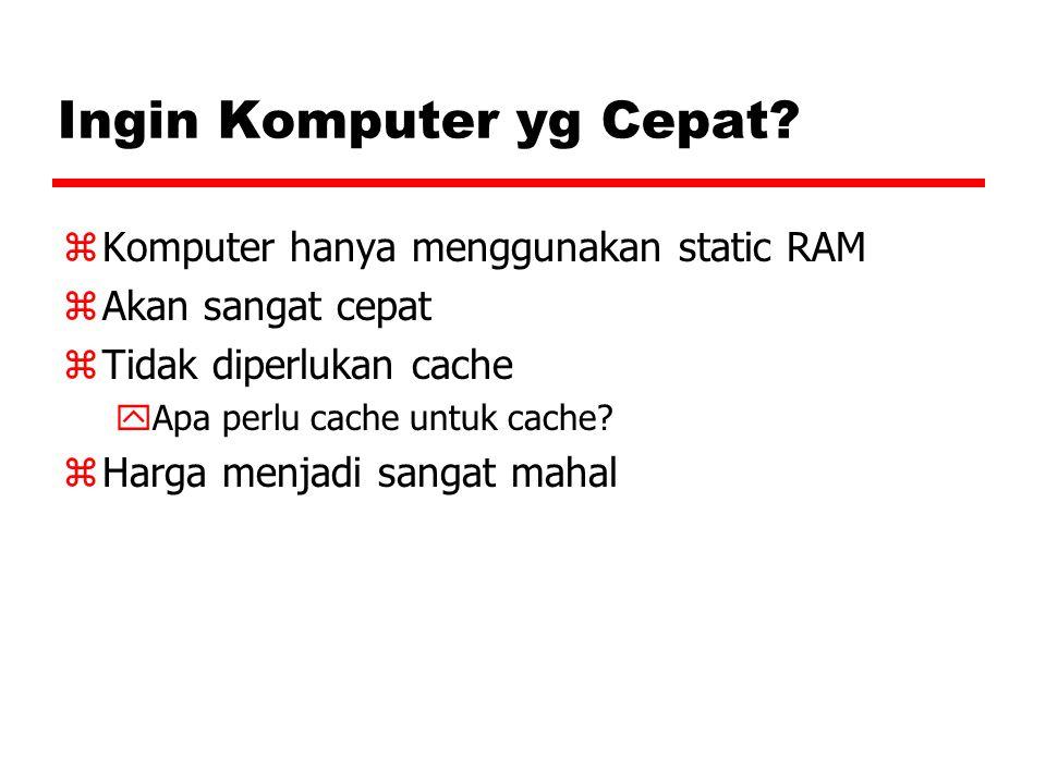Ingin Komputer yg Cepat