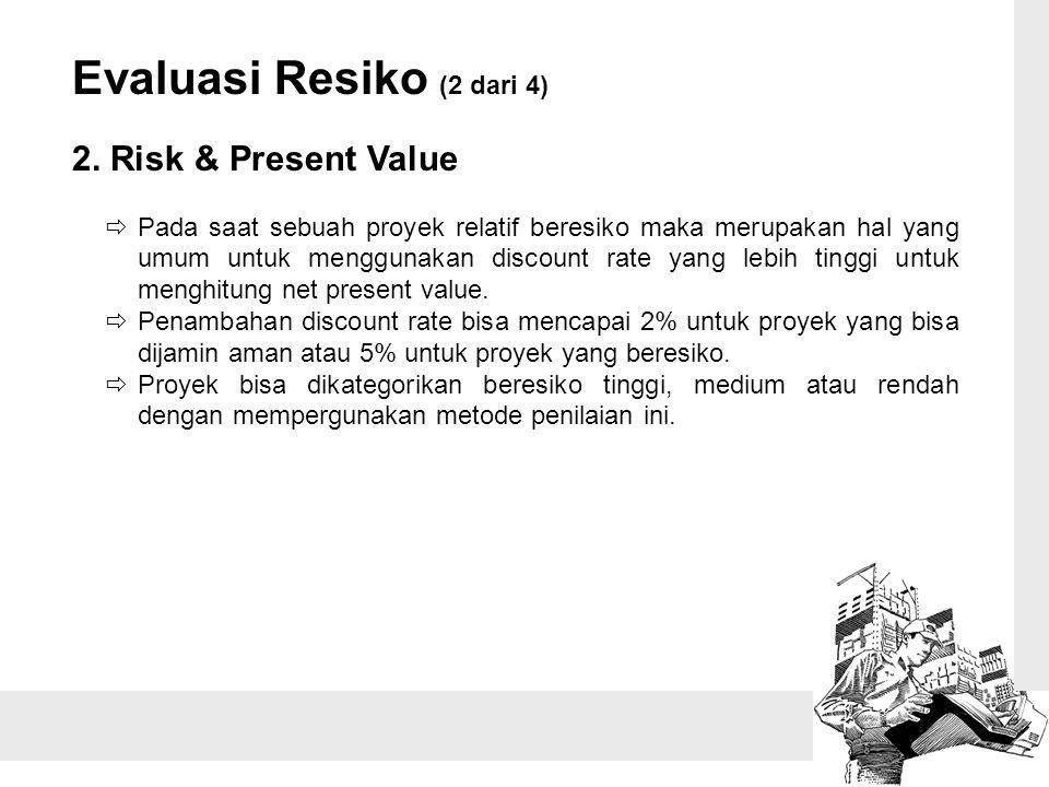 Evaluasi Resiko (2 dari 4)