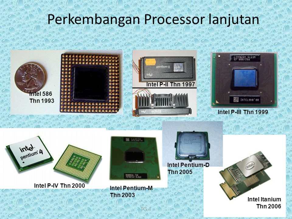 Perkembangan Processor lanjutan