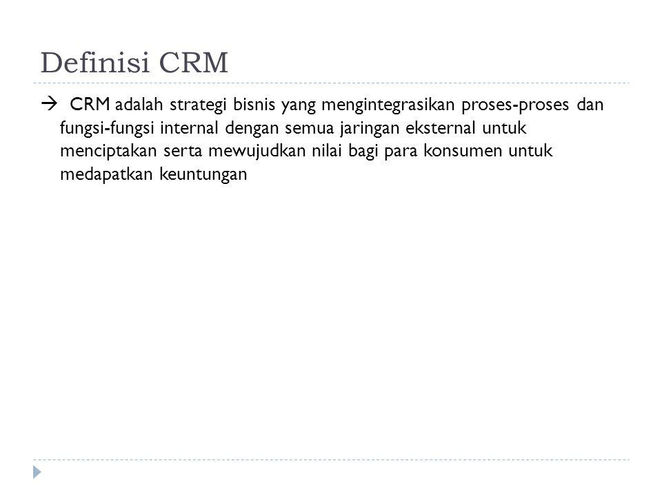 Definisi CRM