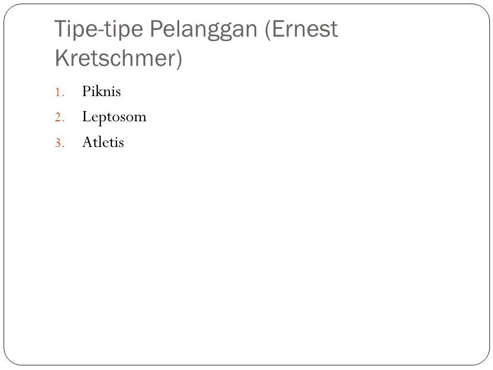 Tipe-tipe Pelanggan (Ernest Kretschmer)