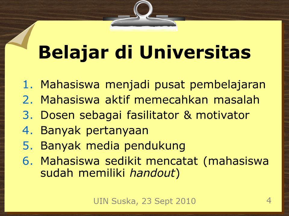 Belajar di Universitas