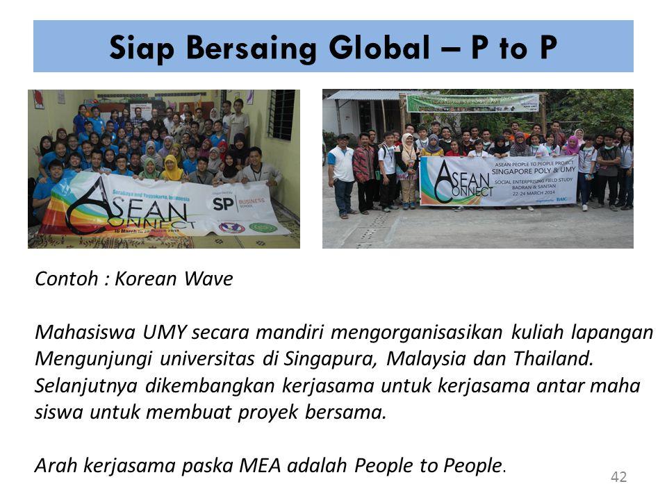 Siap Bersaing Global – P to P